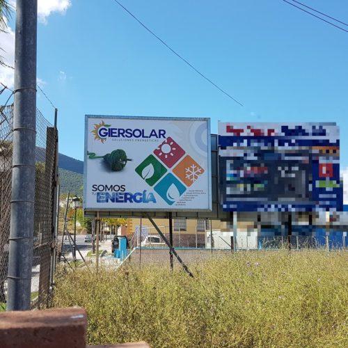 Valla publicitaria Gersolar - ideo estudio agencia marketing malaga