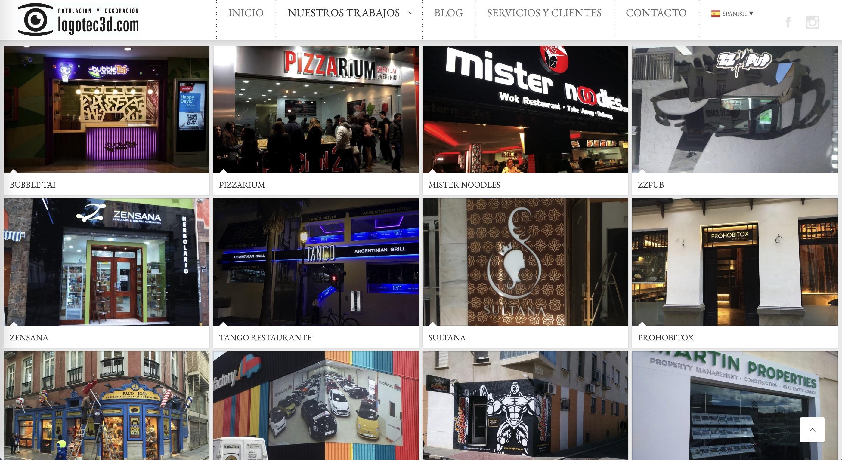 Logotec 3d Diseño web y SEO